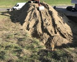 Terrassement de maison ainsi qu'évacuation des terres