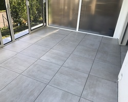 Pose de carrelage 60x60